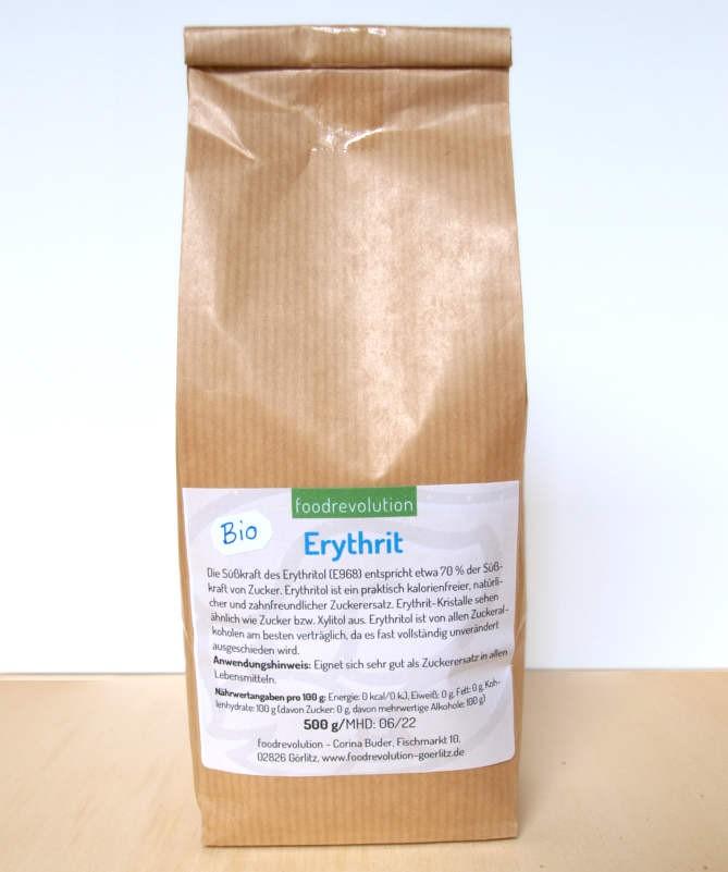 Tüte Erythrit