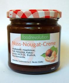 Glas mit Nuss-Nougat-Creme